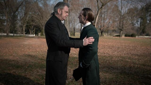 File:Richard Woodhull discusses Anna Strong with Abraham Woodhull.jpg