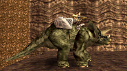 Turok Dinosaur Hunter Enemies - Triceratops (7)