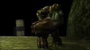 Turok Dinosaur Hunter Enemies - Purr-Linn War Club (5)