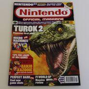 Turok 2 Seeds of Evil - Nintendo official magazine