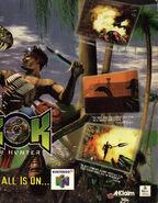 Turok Dinosaur Hunter -Poster (1)