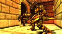 Turok 2 Seeds of Evil Enemies - Raptoid - Dinosoid (20)