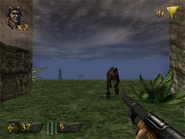 Turok- dinosaur hunter-gameplay