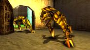 Turok 2 Seeds of Evil Enemies - Raptoid - Dinosoid (3)