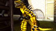 Turok 2 Seeds of Evil Enemies - Raptoid - Dinosoid (8)