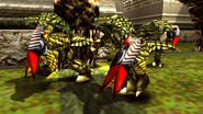 Turok 2 Seeds of Evil Enemies - Endtrail - Dinosoid (36)