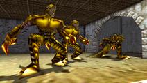 Turok 2 Seeds of Evil Enemies - Raptoid - Dinosoid (11)
