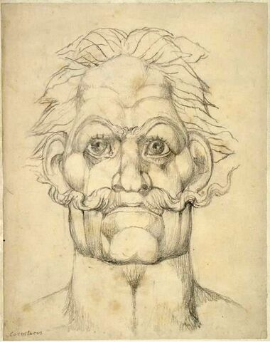 File:William Blake Visionary Head of Caractacus -contrast increased-1-.jpg