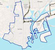 Map of San Pedro, California-1-