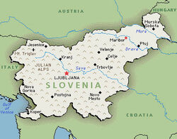 Sloveniamap