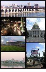 Harrisburg, Pennsylvania photomontage-1-