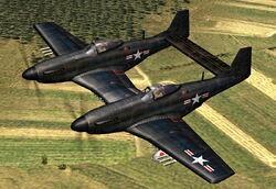 Twin Mustang p82f