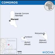 Comoros Map UNOCHA svg