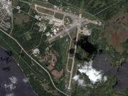 Gander International Airport (satellite view)