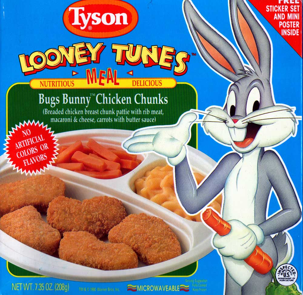 Image Bugs Bunny Chicken Chunks Jpg Tv Dinners Wiki