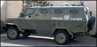 M462 Rhino armored patrol vehicle