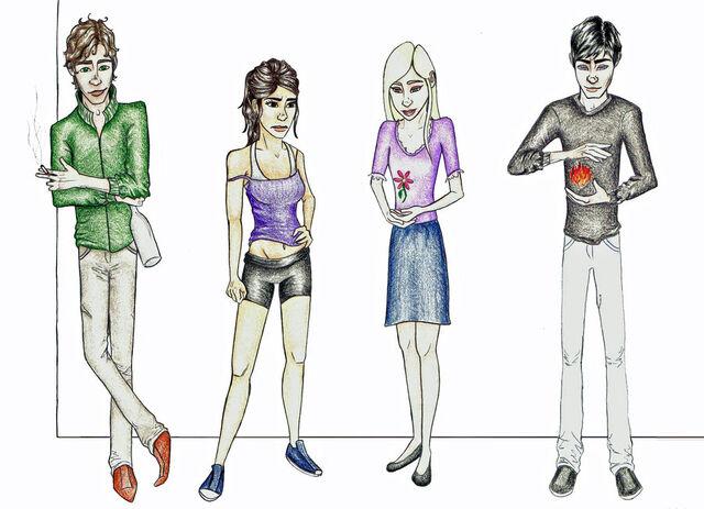 File:Dimitri, Rose, Lissa, and Christian Fan Art.jpg
