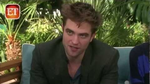 ET- Breaking Dawn Part 2 Cast Interview 11-1-12