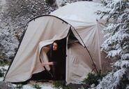 Set montagna tenda