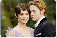 Alice and Jasper at BE wedding