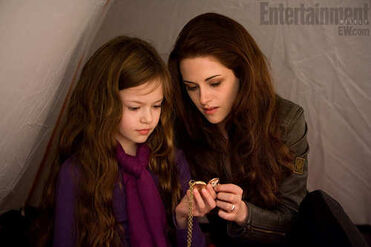 Bella with Renesme