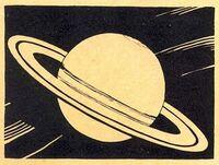 Saturn illustration