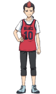 Atsushi anime design