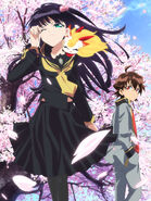 Twin Star Exorcists TV Anime Key Visual 3