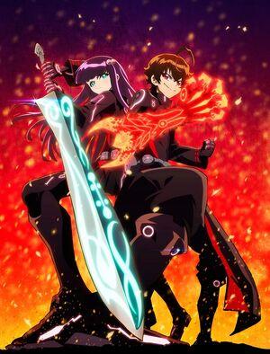 Twin Star Exorcists TV Anime Key Visual 1