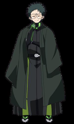 Kengo anime design