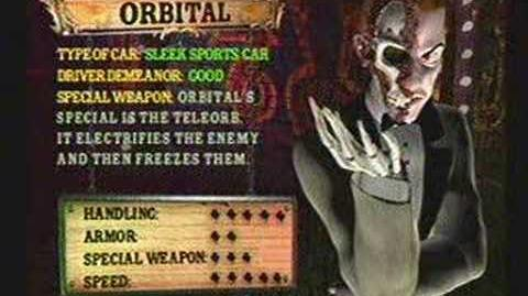 Twisted Metal 4 - Orbital's Info