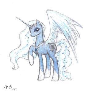 Legendary ice pony by artemisdragonrider-d4rj4ky