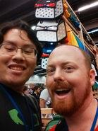 Mike0Dude and Pat Selfie