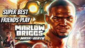 Marlow Briggs and the Mask of Death Title