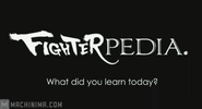 Fighterpedia 4 What Did You Learn Today