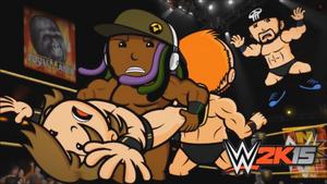 WWE 2K15 Title