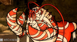 The Feel of Action Games Mummy Lobster