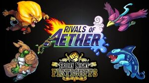 Rivals of Aether Title