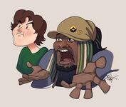 Fan Art Liam and Woolie phildragash
