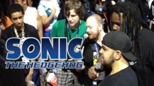 Sonic 06 Title