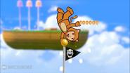 Super Mario 3D World Pole