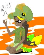 Wet Woolie Girl Splatoon - IndonesianBob67