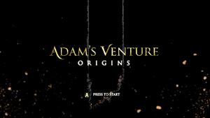 Adam's Venture Title