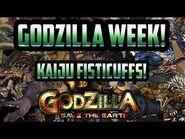 Godzilla Kaiju Fisticuffs