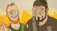 Morons VS Wild Man One Nature Zero