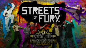 Streets of Fury EX Title