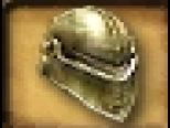 Helm Golden Plate Helmet with Eye Slits