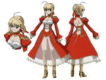 Red Saber Carnival Phantasm character sheet