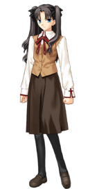 Tohsaka rin school uniform