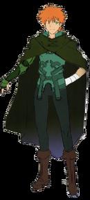 Archer Takeuchi cape